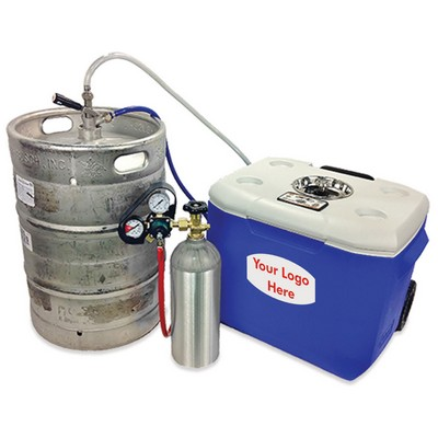 Bottoms Up Beer Party Cooler