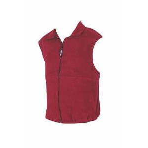 20° Below Unisex Fleece Vest w/Front Yoke