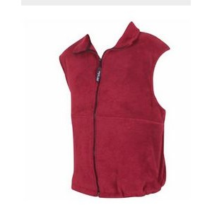 20° Below Unisex Polyester Fleece Vest