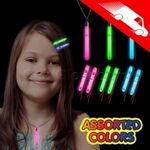 Custom Glow Hair Pins And Pendant Necklace Set Assorted