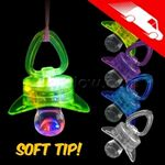 Custom LED Novelty Pacifiers Soft Style