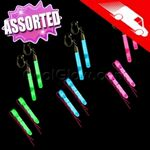 Custom Glow Hair Pins And Earrings Set Assorted