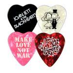 Custom Heart Shaped Guitar Pick (1 Color Imprint)
