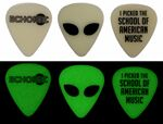 Custom Glow in the Dark Guitar Pick (1 Color Imprint)