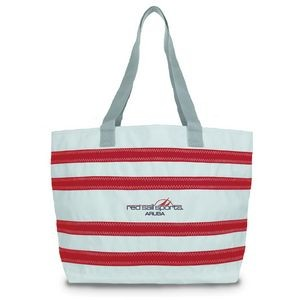 Nautical Stripes Beach Tote