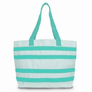 Striped Large Tote