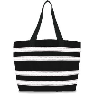Imperial Stripe Large Tote