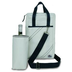 2-Bottle Insulated Wine Tote Bag