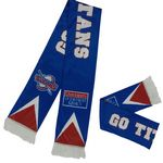 Custom Double Full Size Printed Fans Woven Sport Scarf