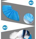 Custom Disposable Non-woven Shoe Cover (Pair)