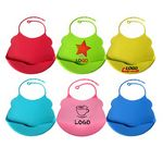 Custom 100 percent Food Grade Silicone Baby Bib
