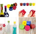 Custom Silicone Wine Bottle Caps