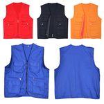 Custom Vests for Volunteers and Outdoor Party Members