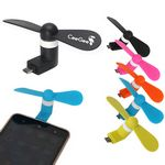 Custom Portable Super Mute Micro USB Cooler Mini Fan For Android Phone