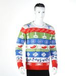 Custom Custom Big Size Unisex Ugly Christmas Sweaters For Adults