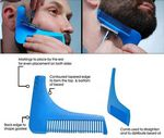 Custom Beard Shaping Comb Tool