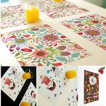 Custom Eco-Friendly PVC Full Size Printed Table Place Mat