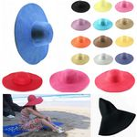 Custom Wide Brim Beach Floppy Hats Many Colors Available