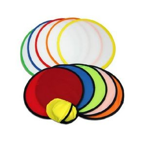 Foldable/ Collapsible Flying Disc With Pouch - 8""