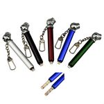 Custom Tire Tread Tire Pressure Gauge Key Chain Key Ring