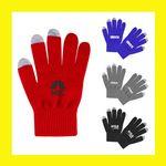 Custom Smart Touchscreen Gloves - Full Color Imprint - Best Industry Price!!!