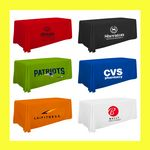 Custom 6 Foot / 72 Inch Thermal Full Color Trade Show Table Throw - Best Price!!!