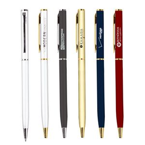 Executive Hotel Series Metal Twist Action Matte Ballpoint Pen