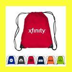 Custom Drawstring Cinch Backpack Sports Tote Bag