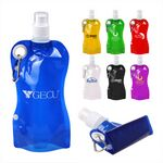 Custom 20 Oz. Collapsible Pocket Water Bottle