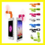 Custom Portable Cell Phone Fan (iPhones & Androids Phones) - Best Price!!!