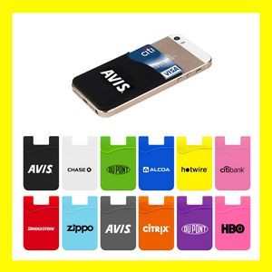 Silicone Cell Phone Wallet - Best Price in the Industry!!!