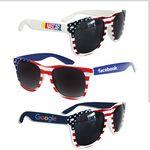 Custom American Flag Sunglasses