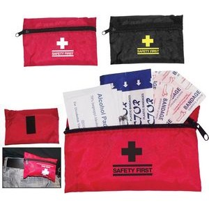 Mini Travel First Aid Pouch