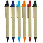 Custom Cardboard clip paper pen