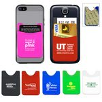 Custom Shirt silicone phone wallet