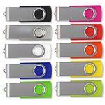 Custom 256MB swivel USB flash drive