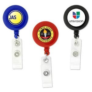 Full Color Dome Retractable Badge Reel