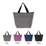 Custom Water Resistant Insulated Cooler Lunch Tote Bag