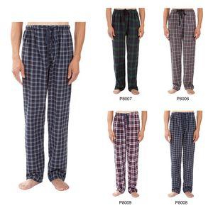 Custom Men's Classic Plaid Pajama Pants, Sleepwear, Lounge Wear
