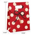 Custom Paper Gift Bog/Box- Red