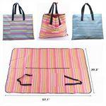 Custom Mat - Outdoor Picnic and Bag Combination