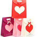 Custom Red Paper Bag