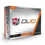 Custom Wilson W/S Duo Orange Golf Balls