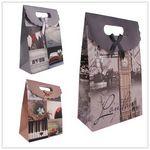 Custom Paper Gift Boxes/Bags (Purple)