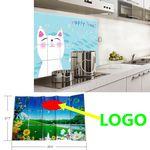 Custom Aluminum Foil Wall Sticker
