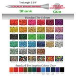 Custom 2¾ Tees 1 Color Shank
