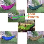 Custom Outdoor & Indoor Swinging Hammock (Dark Green)