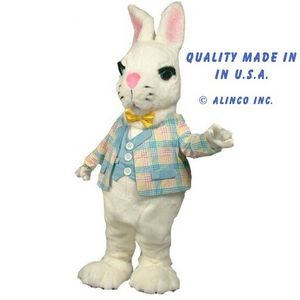 Bunny w/Clothing Mascot Costume