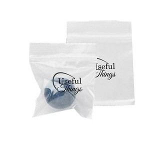 "6""x9"" - Clear Zip Lock Bags, 1 color 2 sides"