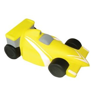 Yellow Indycar Stress Reliever